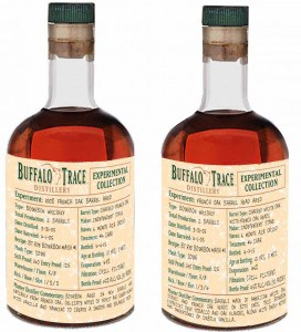 Buffalo Trace French Oak bourbons