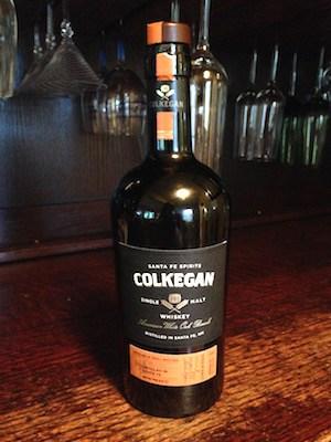 Santa Fe Spirits, Colkegan Single Malt Whiskey