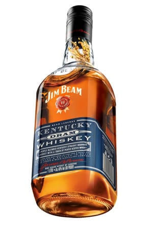 New Jim Beam Kentucky Dram Blends Scotch Bourbon