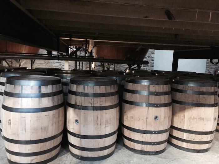 Brown-Forman barrels