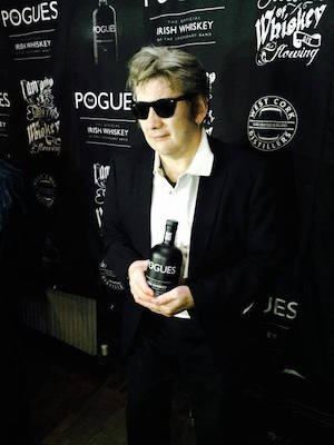 The Pogues Irish Whiskey Latest Celebrity Whiskey Tie In on deep wash basin