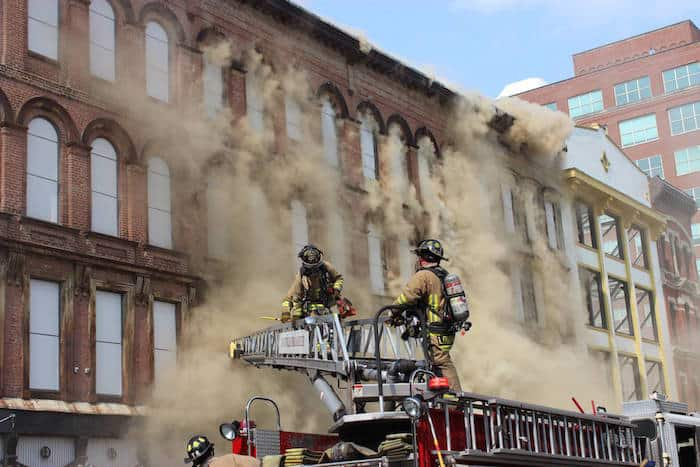 Louisville Whiskey Row Fire
