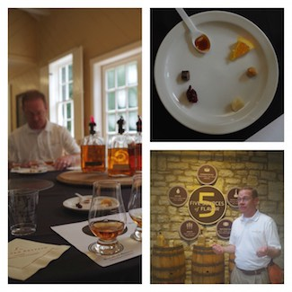 Woodford Reserve wheel tasting