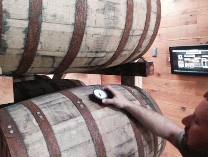 Buffalo Trace experimental barrels