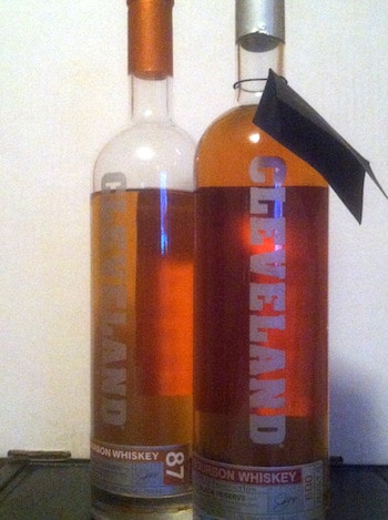 Cleveland Christmas Bourbon.Whiskey Review Cleveland Whiskey