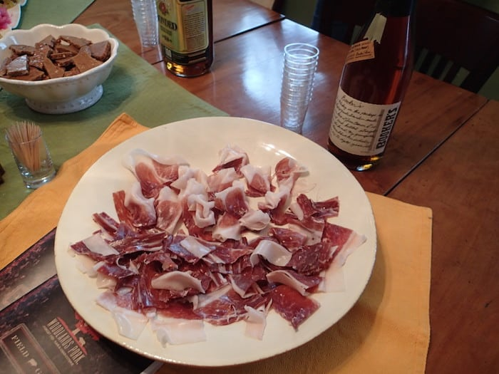 Country Ham And Bourbon