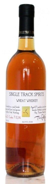 Single Track Spirits Wheat Whiskey