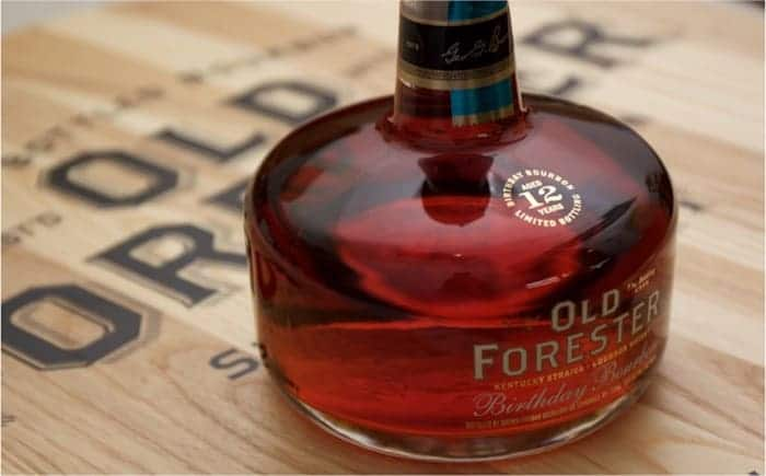 Old Forester 2015 Birthday Bourbon