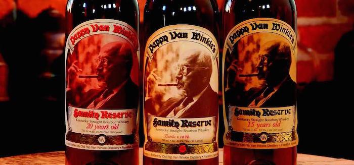 Van Winkle bottles