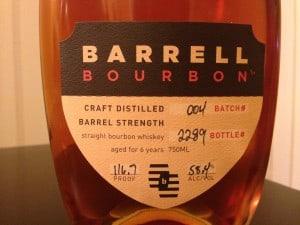Barrell Bourbon 004