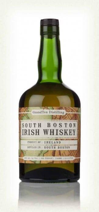 GrandTen Distilling's South Boston Irish Whiskey
