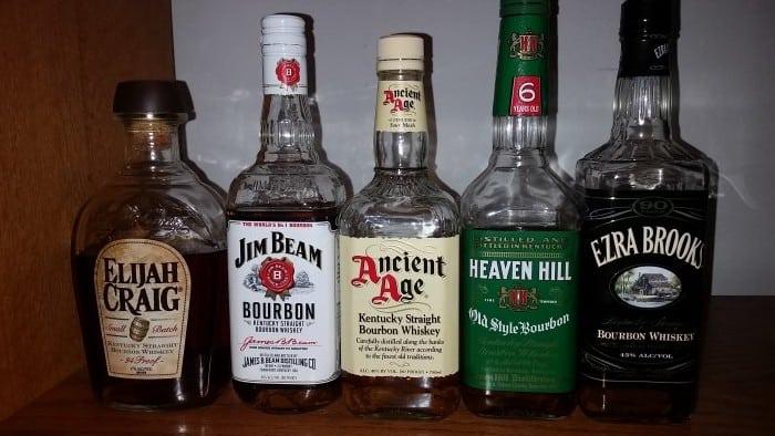 bottom shelf bourbons