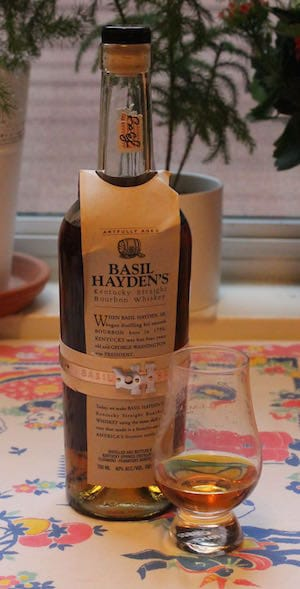 Whiskey Review Basil Hayden The Whiskey Wash