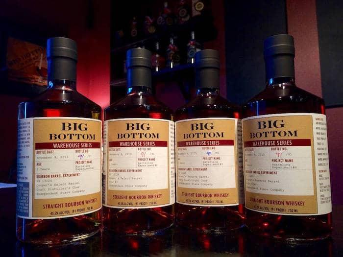 Big Bottom Warehouse Bourbon Series