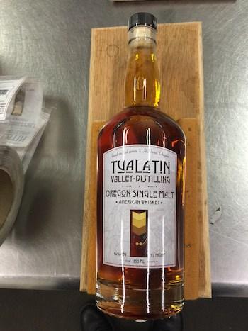 Tualatin Valley Distilling Single Farm Oregon Single Malt