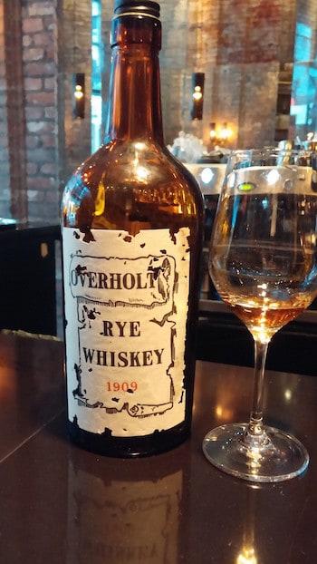 Old Overholt 1909 Vintage Whiskey