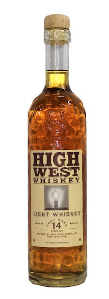 High West 14 Year Light Whiskey
