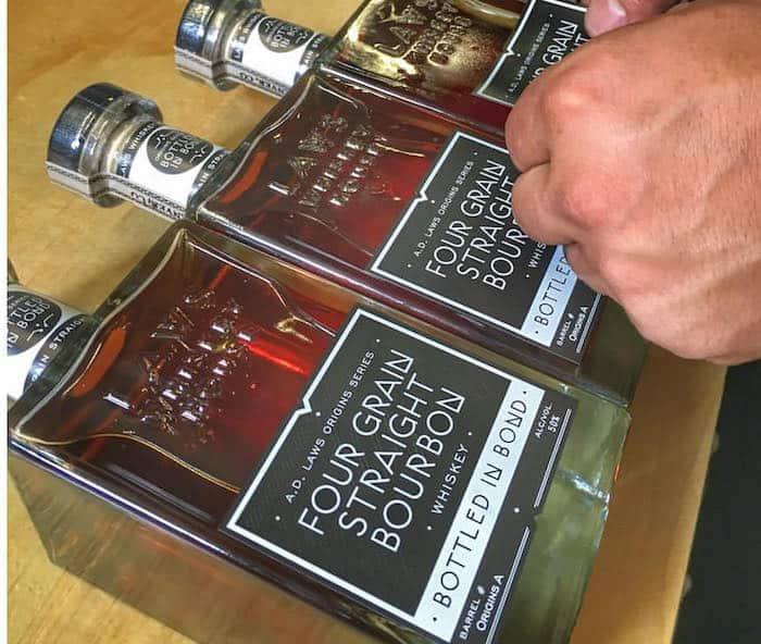 Laws Bourbon Bottled in Bond