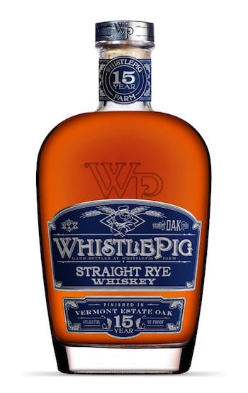 WhistlePig 15 Year Old Vermont Estate Oak Rye