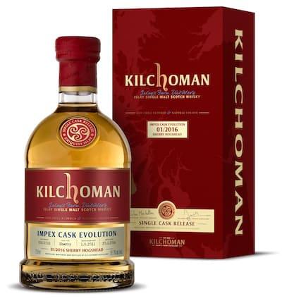 Kilchoman ImpEx Cask Evolution