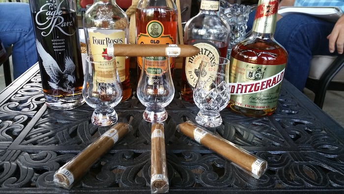pairing bourbon and cigars