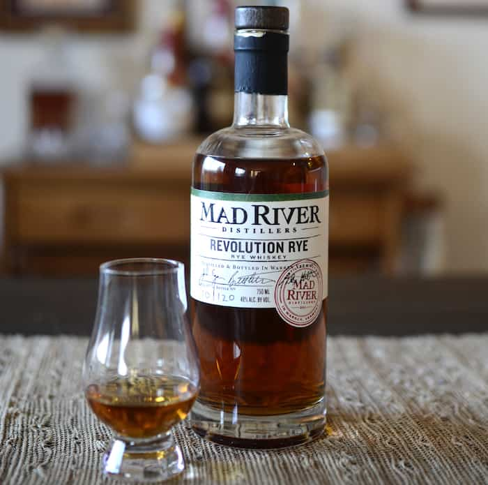 Mad River Distillers Revolution Rye