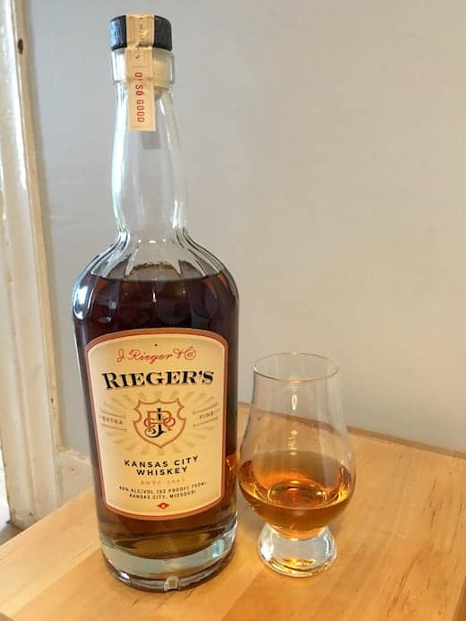 Whiskey Review Rieger S Kansas City Whiskey The Whiskey