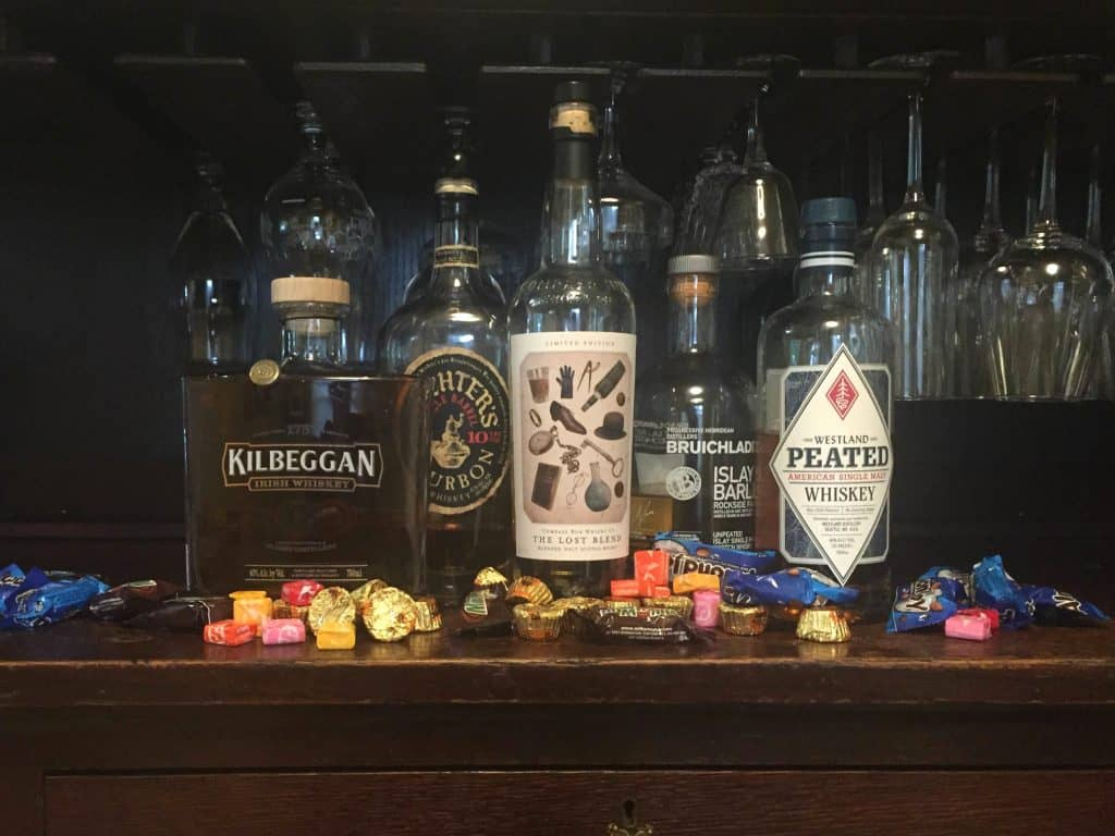 whiskey-and-halloween-candy