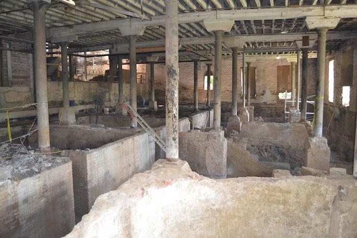 Buffalo Trace ruins