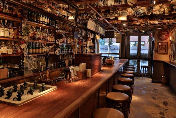 Inside the Dead Rabbit whiskey bar (Image via Dead Rabbit)