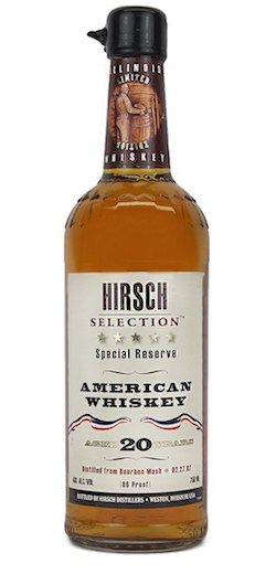 Hirsch Selection Special Reserve 20-Year-Old American Whiskey