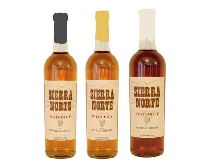 Sierra Norte Native Corn Whiskies