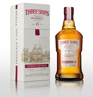 Three Ships 15-Year-Old Pinotage Cask Finish
