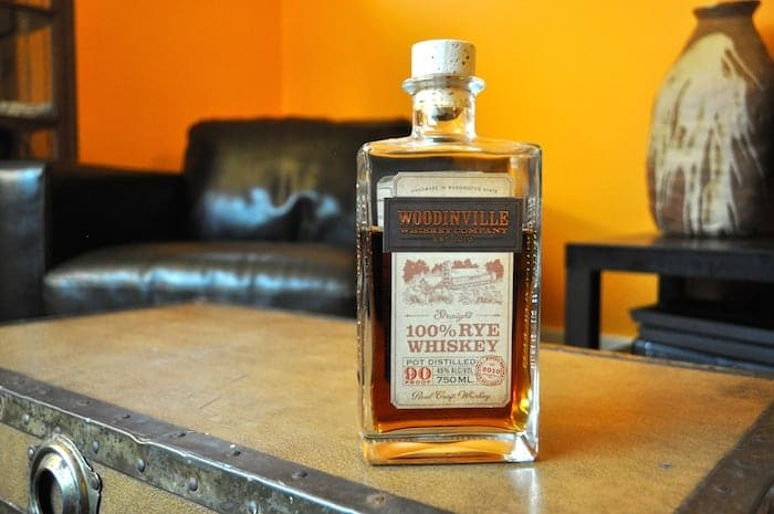 Woodinville Flagship 100% Rye Whiskey