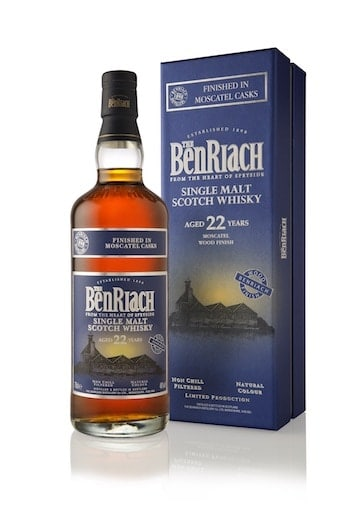 BenRiach 22-Year-Old Moscatel Wood Finish