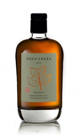 One Eight Distilling Rock Creek Rye Whiskey