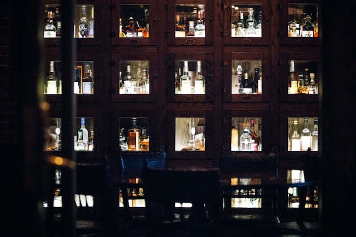 whiskey lockers