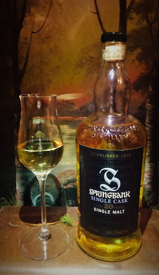 Springbank 20-Year-Old Fresh Rum Cask