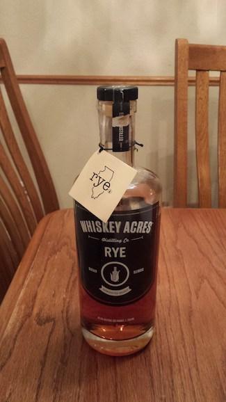 Whiskey Acres Rye