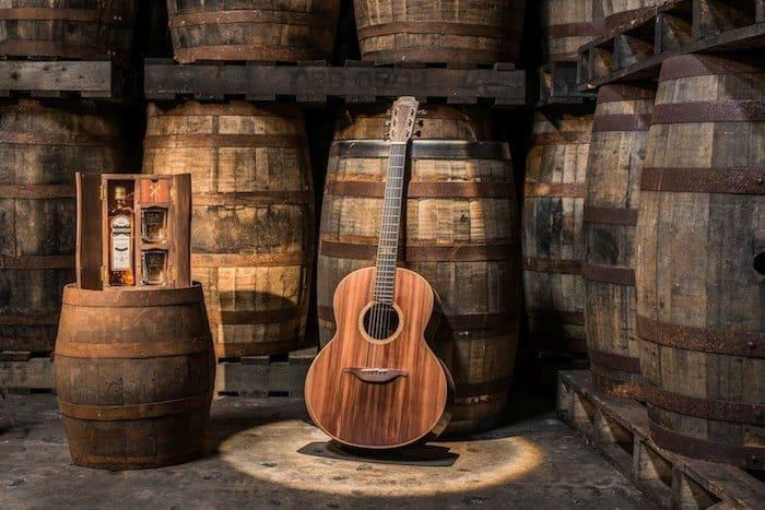 Bushmills Whiskey Barrel Guitar