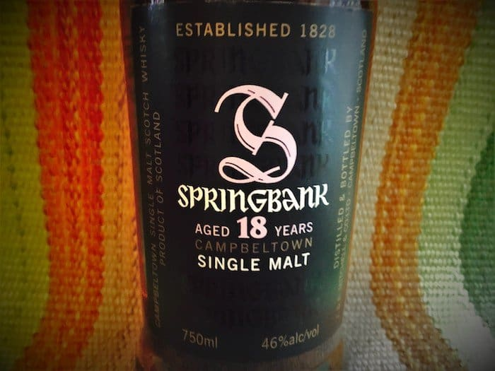 Springbank 18 Year Old