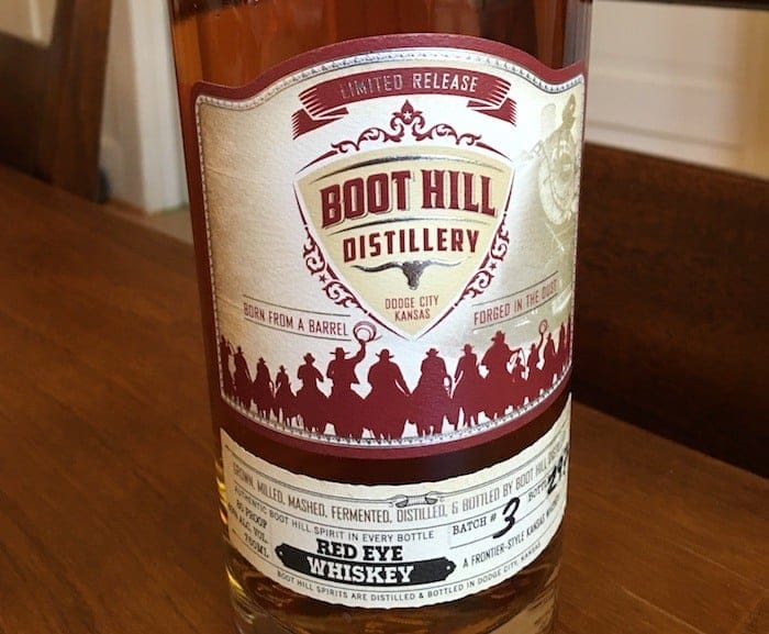 Boot Hill Red Eye Whiskey