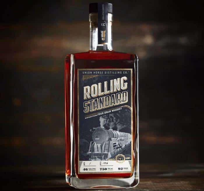 Rolling Standard Midwestern Four Grain Whiskey