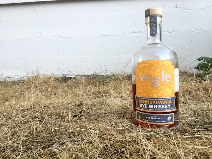 Wigle Organic Pennsylvania Rye Whiskey