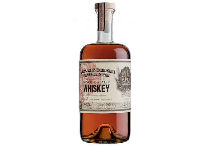 St. George 35th Anniversary Single Malt Whiskey