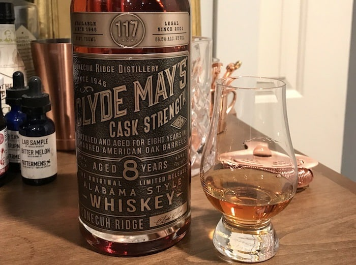 Clyde May's Cask Strength