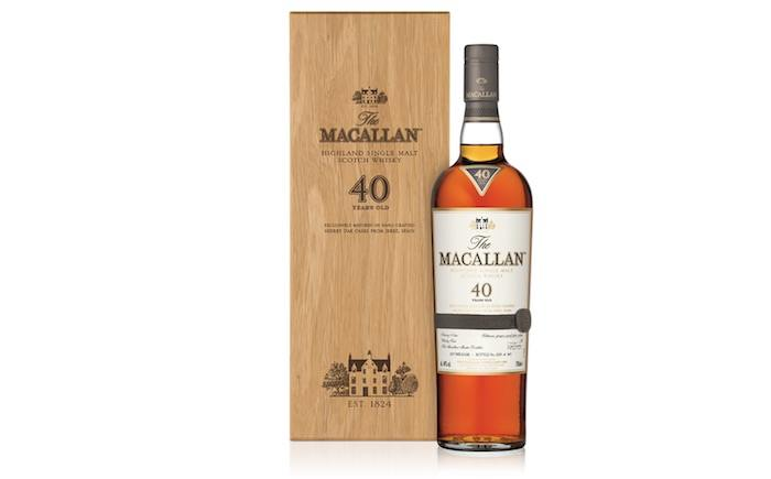 The Macallan Sherry Oak 40 Year Old