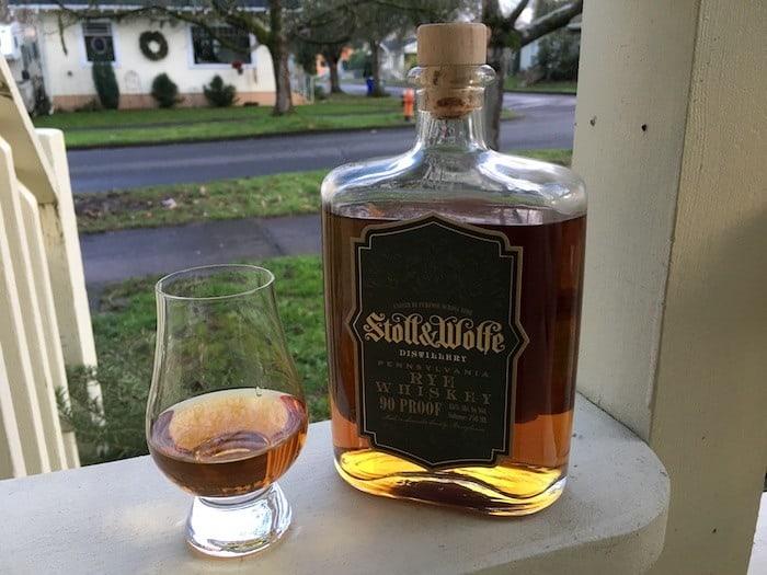 Stoll & Wolfe Pennsylvania Rye Whiskey