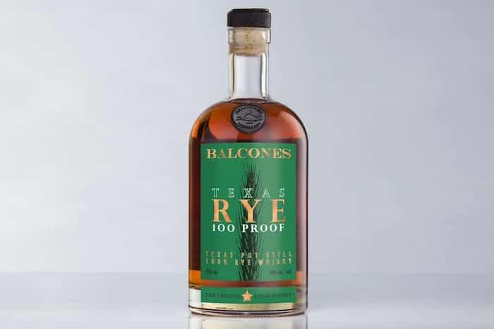 Balcones Distilling Texas Rye Whiskey