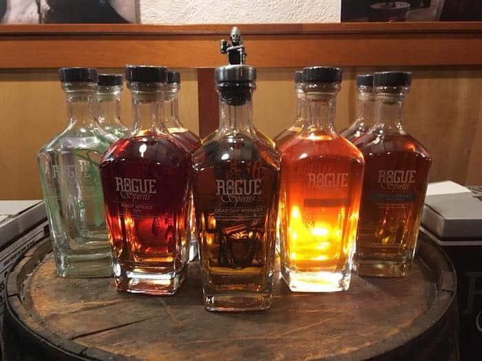 Rogue whiskeys